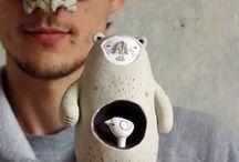 Bear ceramics