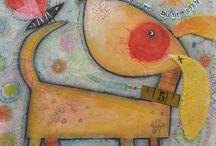 pinturas para cajas