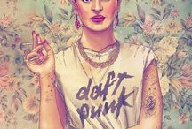 Hipster inspiration / Fashion