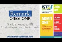 ISTE 2015 / Images from Gravic's Remark Software team getting ready and exhibiting at ISTE 2015.