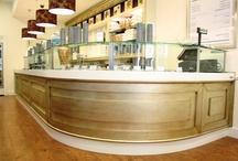 Gelateria Gabrielino - Foggia / Arredamento della gelateria realizzato da Zingrillo.com