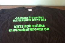 Canada's Ugliest Bathroom Contest....Vote for Elaine in Mission! / Vote for Elaine at www.WinABathroom.ca.  My name is Elaine I have entered the UGLY bathroom contest! as you can see by my pictures I REALLY need to win this.  It's a Bartle and Gibson contest and I am in the finals and would GREATLY appreciate your votes,  this contest is available for Canadian residents only.  Deadline for voting is Oct 15th 2014.  I thank you and my bathroom thanks you. Only one vote per person. / by Elaine Morine