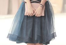 Tulle and all / Tulle skirts