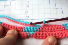 crochet tutoriais