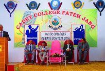 Cadet College Fateh Jang Admission Form 2017