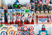 Kids birthday party ideas / For Charlie's 2nd birthday