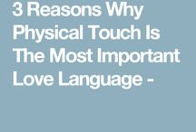 sex is not the only touch, just a great one