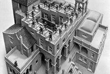 M.C. Escher / by Robert Hacala Brand Design