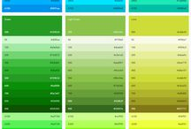 Color paleta