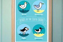 Mrs Booth's Birds