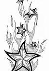 Sterne Tattoos