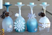 diy Christmas candle crafts