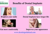 Dental Implants / Dental implants are tooth root replacements that provide a strong foundation for fixed (permanent) or removable teeth replacement. Dental implants represent the greatest dental innovation that offer a stable, natural looking and long lasting solution in case of absence or loss of one or more teeth. Click http://dentistpalakkad.com/dental-implants/ to know more.