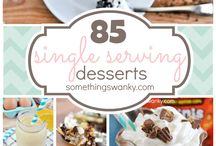 Recipes: Single Serve Sweets / Treats in small quantities