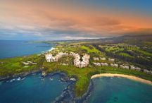 Montage Kapalua Bay / Overlooking picturesque Kapalua Bay in Maui, visitors of Montage Kapalua Bay will discover a luxurious residential-style experience like no other. Complete with all the high-end comforts of home, this intimate beach resort offers world-class recreation, including daily cultural classes, two championship golf courses, and a plethora of outdoor activities including zip-line excursions, tennis, hiking and biking, as well as water activities and exhilarating catamaran and snorkel cruises.