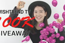 Congrats to Wishtrend 100k giveaway^^