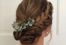 Frisuren / Inspirationen für tolle Frisuren. Passend für Hochzeiten, Abschlussbälle, Geburtstage...