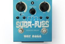 Way Huge Pedals / by Sam Ash Music
