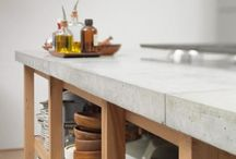 Cement Kitchen Countertops
