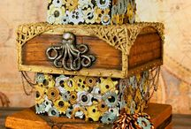 Steampunk wedding / by Wishes Granted Weddings & Events