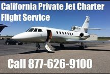California Private Jet Aircraft Charter Flight Service