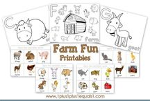 Speech Therapy - Farm / by Emily Johnson