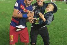 Neymar , Davi i Gil Cebola