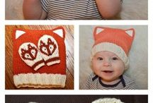 Baby hat knitting