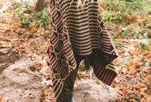 Ponchos o Ruanas