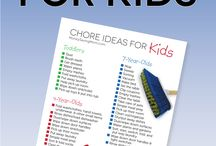 Kid's chore ideas