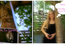 Scarlett Aryana / My first grandchild...waiting for her debut in September