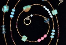 Beaded Necklaces / Eclectic, inspiring beaded necklaces.