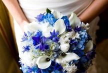 Wedding flowers / I love colors ♡ Bouguet and centerpiece