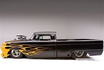 Trucks - Hotrods / by John Kowalski
