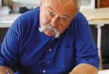 Oldřich Kulhánek / Oldřich Kulhánek byl český malíř, grafik, ilustrátor, scénograf a pedagog. Stal se autorem grafické podoby současných českých bankovek a vytvořil mnoho českých poštovních známek.