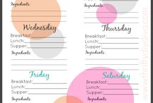How to plan my week / How to plan my week and improve effiency