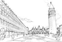 "works: 마스터플랜 프로젝트;; ""LAVENICHE MARCH AVENUE, Gim-po"" / Culture Theme Canel & Street Mall 김포 한강신도시에 조성되는 850미터 길이의 수변공간에 조성되는 캐널 & 스트리트 저층형 상업시설"