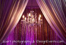 Backdrops Decor Maharani Indian Wedding Ideas / Available now  www.iDesignEvents.com #iDesignEvents #MaharanieWeddings #BackdropDecor #WeddingDecor