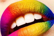 Creative lip art