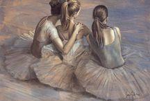 Pen to paper, ballet