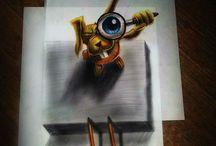 Tegninger 3D