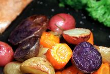 Delicious vegan food / Nobody can beat nature and its beautiful and simple edible treasures.