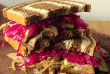 Vegan Sandwiches, Wraps, and Burgers / Hold on to your food!