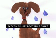Pets and animal preschool crafts