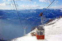 Malcesine Monte Baldo Garda Lake /  Nice pin from Malcesine cableway in all seasons