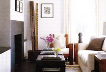 our tiny living room / by Katherine Smith