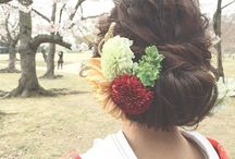 結婚式 ヘアスタイル