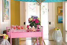 Sweet 16 Lilly Style / Life's a Party...decorate with pink and green decor.