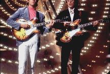 John Winston Lennon and George Harrison