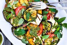Geroosterde groente / Salade